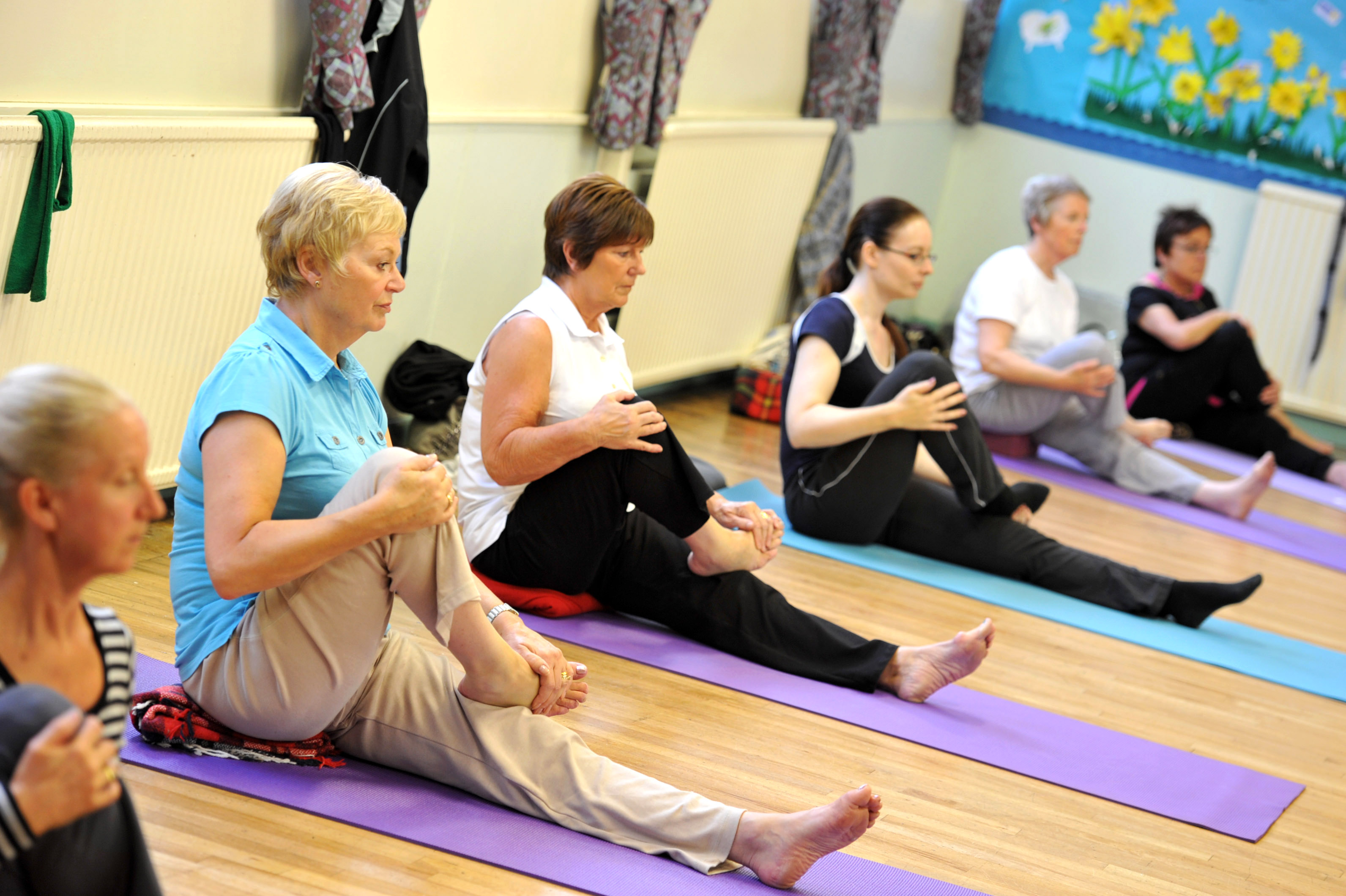 Yoga Classes begin on 18th Sept - Theberton Jubilee Hall